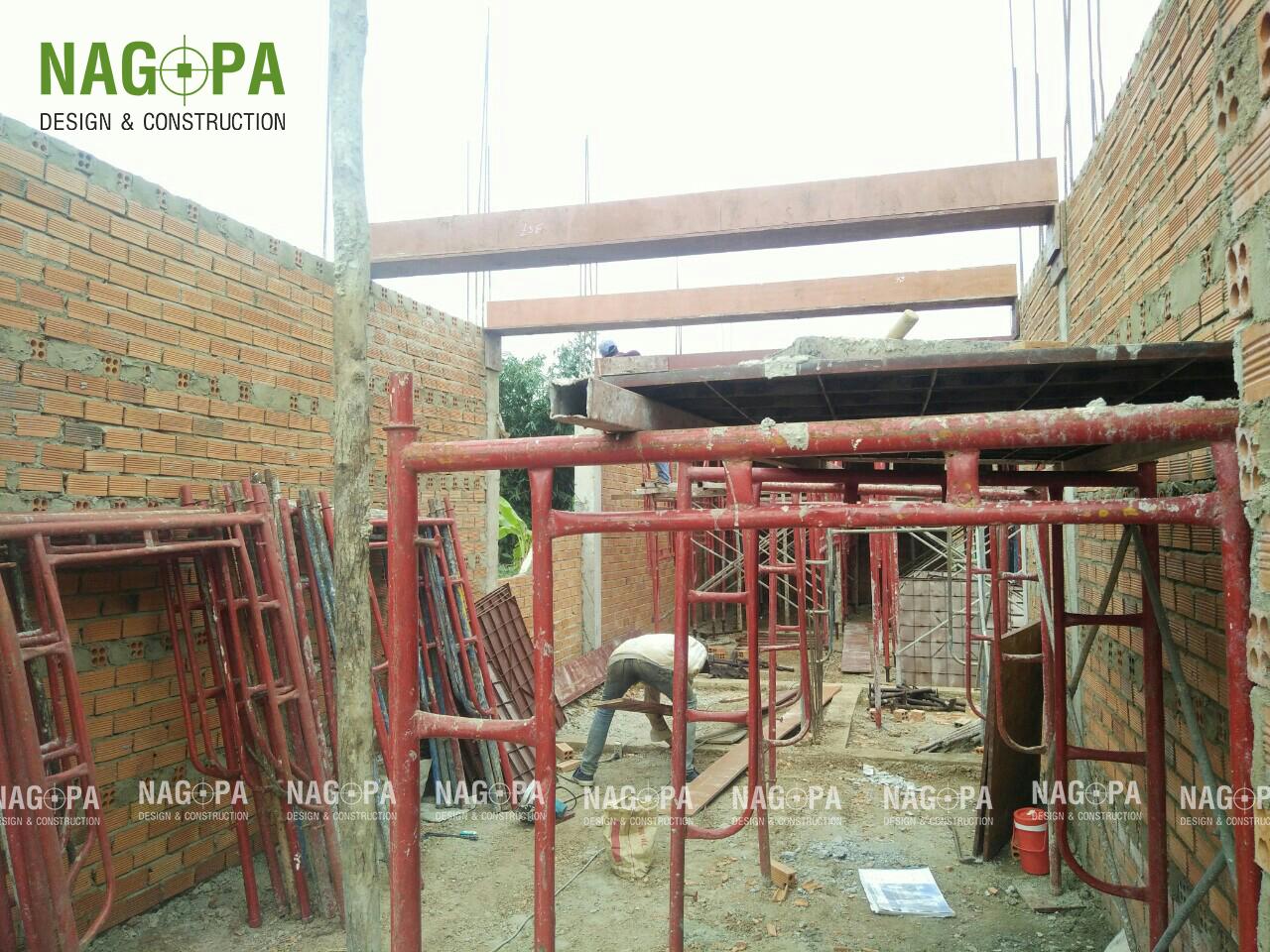 hoạt động xây dựng nhà ở gia đình anh linh bình phước 02