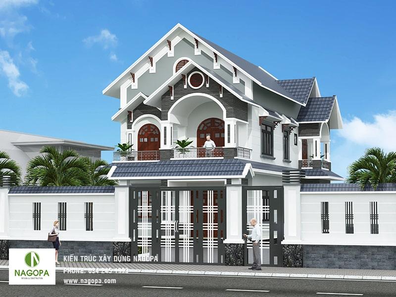 thiết kế nhà biệt thự tại đồng xoài