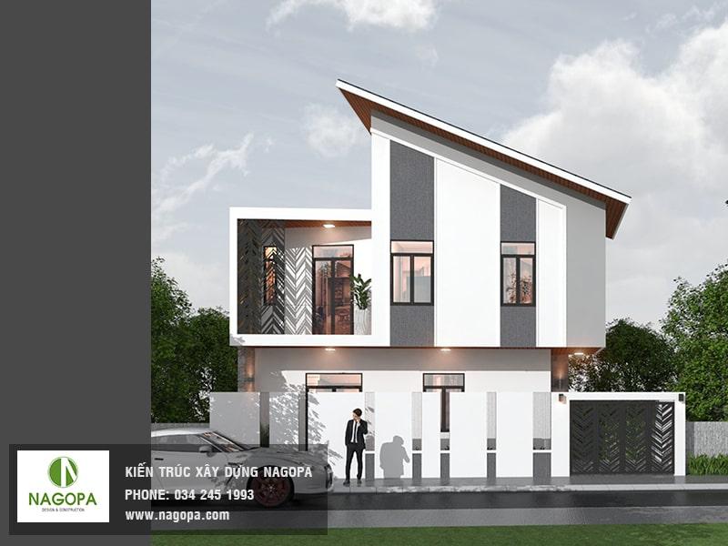 thiết kế nhà chị thúy bất động sản