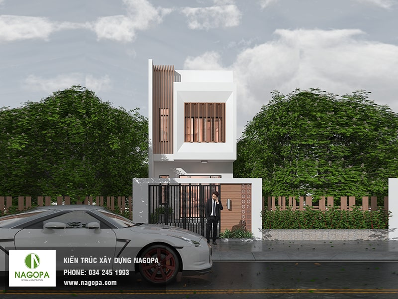 thiết kế nhà đẹp tại đồng xoài