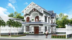 thiết kế thi công nhà biệt thự tại bình dương