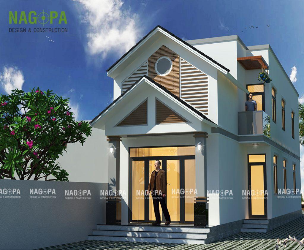 xây dựng nhà đẹp 5x20 tại đồng xoài bình phước