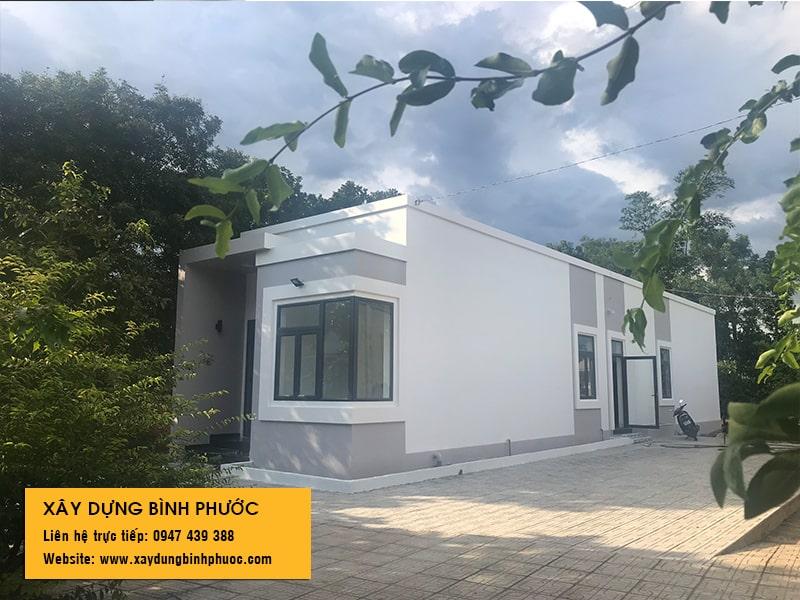 xây dựng nhà anh Thuần ở Đồng Phú Bình Phước 01