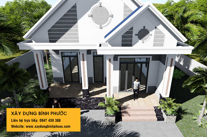 biệt thự 1 tầng chốn thôn quê tại Tân Phước Đồng Xoài 04