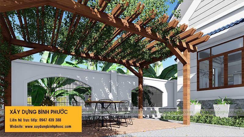 thiết kế nhà ở thành phố đồng xoài 01