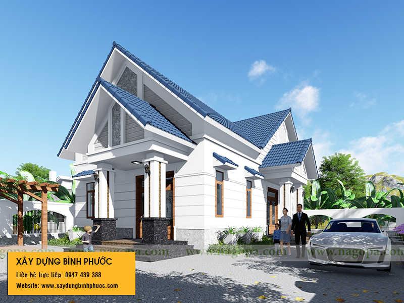 thiết kế nhà ở thành phố đồng xoài