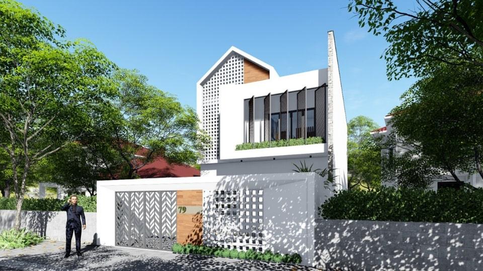 thiết kế nhà đẹp phước long 06