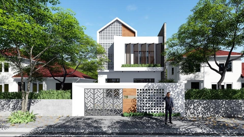 thiết kế nhà đẹp phước long 07