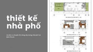 thiết kế nhà phố huyện đồng phú 01