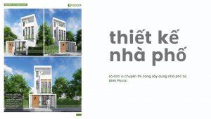 thiết kế nhà phố huyện đồng phú 02