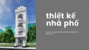 thiết kế nhà phố huyện đồng phú 04