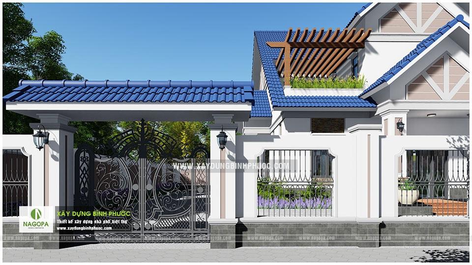Biệt thự 2 tầng mái thái 01 (Huyện Đồng Phú) 06