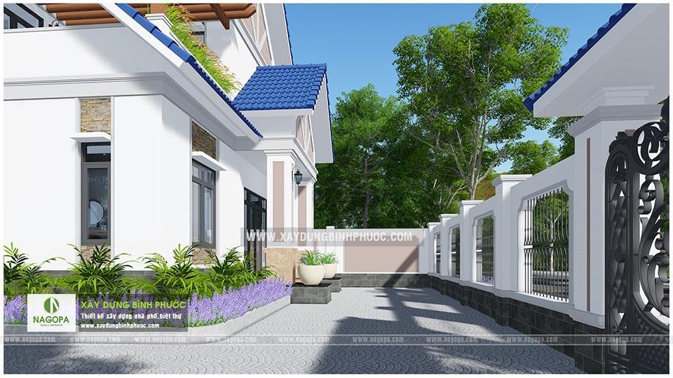 Biệt thự 2 tầng mái thái 01 (Huyện Đồng Phú) 08