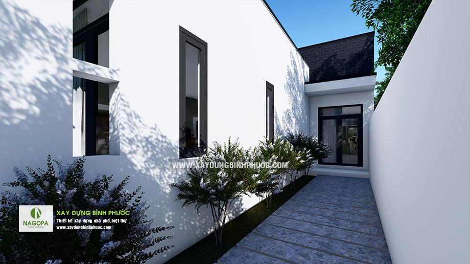 Nhà cấp 4 hiện đại 8x20m 2 Phòng Ngủ tại Bình Long 06