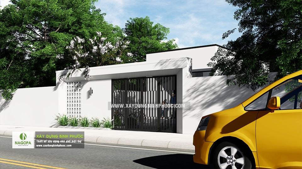 Nhà cấp 4 hiện đại 8x20m 2 Phòng Ngủ tại Bình Long 07