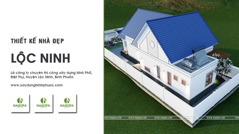thiết kế nhà đẹp huyện lộc ninh