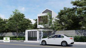 Nhà Phố 2 Tầng Diện Tích 5x24m tại Đồng Xoài 01