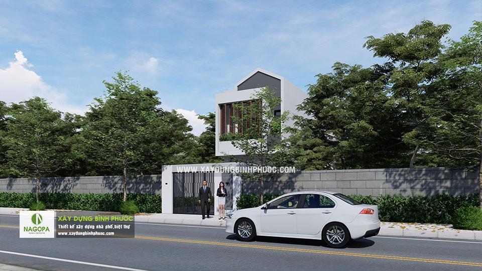 Nhà Phố 2 Tầng Diện Tích 5x24m tại Đồng Xoài 02