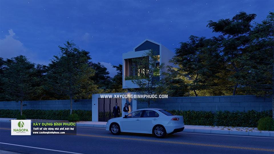 Nhà Phố 2 Tầng Diện Tích 5x24m tại Đồng Xoài 08