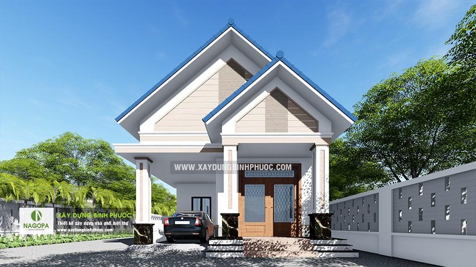 Nhà Cấp 4 Số 006   Tân Phước   Huyện Đồng Phú 02